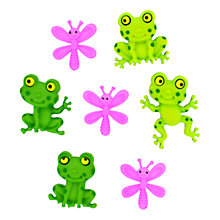 Buy Jesse James Happy Frogs Paper Toppers Online at johnlewis.com