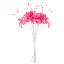 Buy John Lewis Pearl Flower Online at johnlewis.com