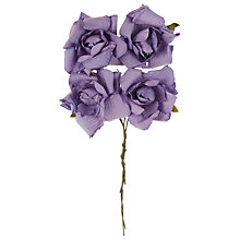 Buy John Lewis Paper Roses Online at johnlewis.com