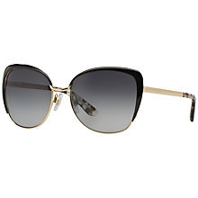 Buy Dolce & Gabbana DG2143 Sunglasses, Gold/Black Online at johnlewis.com