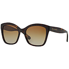 Buy Dolce & Gabanna DG4240 Square Framed Sunglasses, Havana Online at johnlewis.com