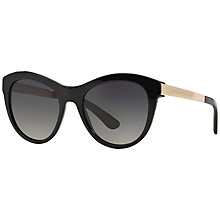 Buy Dolce & Gabbana DG4243 Sunglasses, Black Online at johnlewis.com