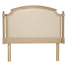 Buy John Lewis Etienne Headboard, Super Kingsize Online at johnlewis.com