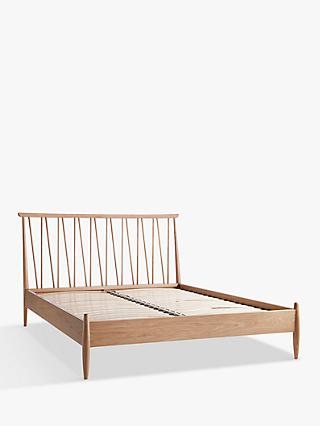 ercol for John Lewis Shalstone Bed Frame, Oak, Double