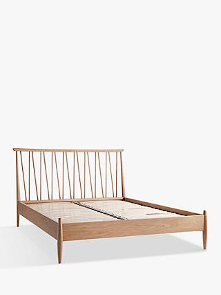 ercol for John Lewis Shalstone Bed Frame, Oak, King Size