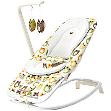 Buy Joie Owl Rocker, White/Multi Online at johnlewis.com