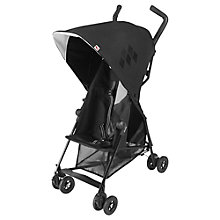 Buy Maclaren Mark II Pushchair, Black Online at johnlewis.com