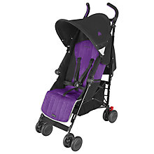 Buy Maclaren Quest Pushchair, Black/Majesty Online at johnlewis.com