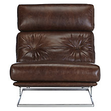 Buy John Lewis Nucleus Leather Armchair, Galveston Hide Online at johnlewis.com