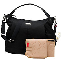 Buy Storksak Catherine Changing Bag, Black Online at johnlewis.com