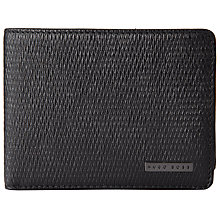Buy BOSS Lillis Leather Wallet With Coin Pocket, Black Online at johnlewis.com