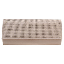 Buy Miss KG Hazel Diamante Clutch Bag, Nude Online at johnlewis.com