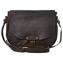 Buy White Stuff Tamara Saddle Bag, Hazelnut Online at johnlewis.com