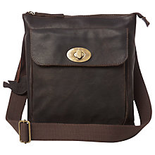 Buy White Stuff Justine Across Body Handbag, Chocolate Online at johnlewis.com