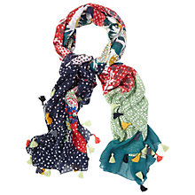 Buy White Stuff Clara PatchworK Scarf, Multi Online at johnlewis.com