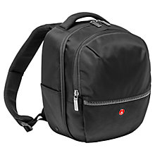 Buy Manfrotto MB MA-BP-GPS Advanced Gear Backpack, Small, Black Online at johnlewis.com