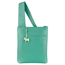 Buy Radley Pocket Bag Leather Medium Across Body Bag, Green Online at johnlewis.com