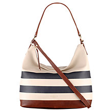 Buy Radley Putney Medium Leather Multiway Shoulder Bag, Navy Online at johnlewis.com