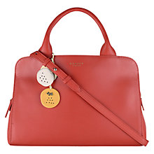 Buy Radley Millbank Leather Multiway Bag, Orange Online at johnlewis.com
