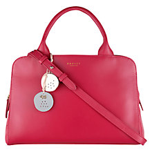 Buy Radley Millbank Leather Multiway Bag, Pink Online at johnlewis.com
