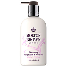 Buy Molton Brown Honeysuckle & White Tea Body Lotion, 300ml Online at johnlewis.com