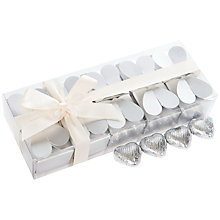 Buy 10 Favour Boxes, Silver, 240g Online at johnlewis.com