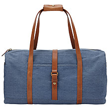 Buy John Lewis Madison Canvas Holdall Online at johnlewis.com