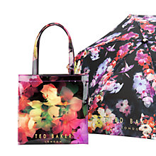 Buy Ted Baker Feltici Icon Shopper Bag, Black Online at johnlewis.com