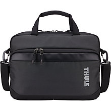 "Buy Thule Subterra Attaché for Laptops up to 13"", Grey Online at johnlewis.com"