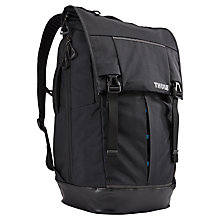 "Buy Thule Paramount 29L Backpack with Compartment for Laptops up to 14"", Black Online at johnlewis.com"