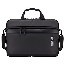 "Buy Thule Subterra Attaché for Laptops up to 15"", Grey Online at johnlewis.com"