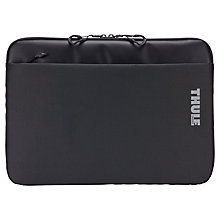 "Buy Thule Subterra Sleeve for 15"" MacBooks, Grey Online at johnlewis.com"