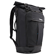 "Buy Thule Paramount 24L Backpack with Compartment for Laptops up to 14"", Black Online at johnlewis.com"