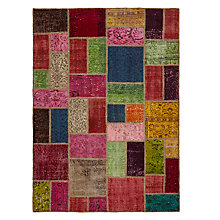 Buy John Lewis Fusion Patchwork Rug, Multi Online at johnlewis.com
