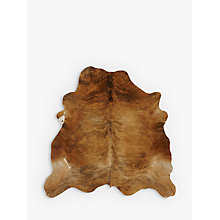 Buy John Lewis Cow Hide, Brown Online at johnlewis.com
