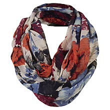 Buy Fat Face Large Rose Floral Snood, Multi Online at johnlewis.com
