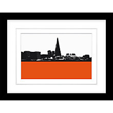Buy Jacky Al-Samarraie - The Shard Framed Print, 34 x 44cm Online at johnlewis.com