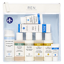 Buy REN Grab & Go Kit Face & Body Skincare Set Online at johnlewis.com