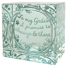 Buy Spaceform Layered Godchild Paperweight Online at johnlewis.com