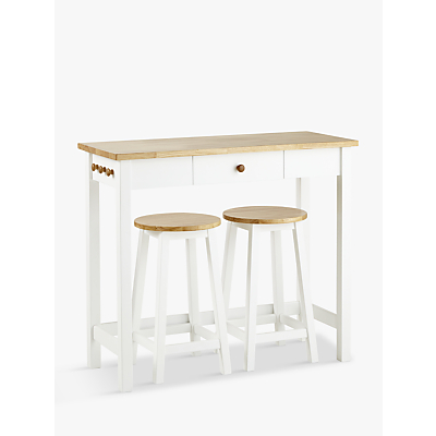 John Lewis Adler Bar Table & Stools