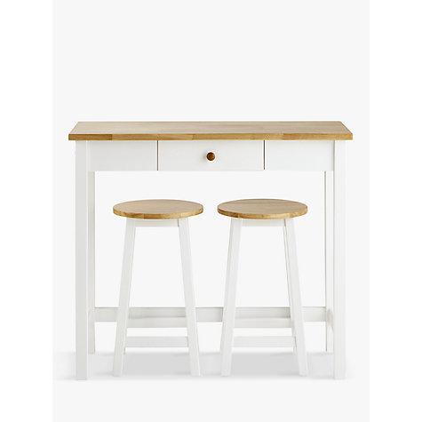 Buy John Lewis Adler Bar Table Amp Stools White Oak John