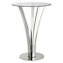 Buy John Lewis Moritz Stainless Steel Bar Table Online at johnlewis.com