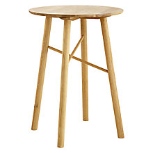 Buy John Lewis Why Wood Oak Bar Table Online at johnlewis.com