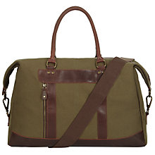 Buy John Lewis Holden Holdall, Green Online at johnlewis.com