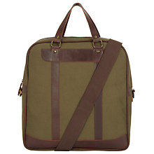 Buy JOHN LEWIS & Co. Collingwood Holdall Bag, Green Online at johnlewis.com