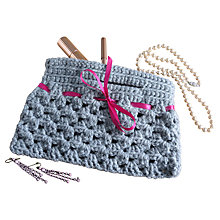 Buy Buttonbag Crochet Handbag Online at johnlewis.com
