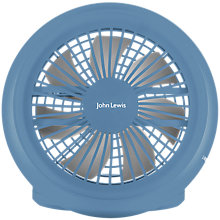 Buy John Lewis OB USB Desk Fan Online at johnlewis.com