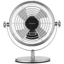 Buy John Lewis OB Metal Desk Fan Online at johnlewis.com