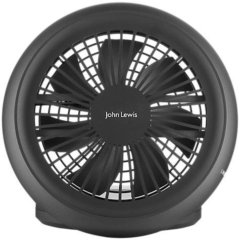 buy john lewis usb desk fan john lewis. Black Bedroom Furniture Sets. Home Design Ideas