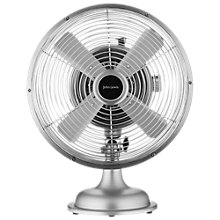 "Buy John Lewis 8"" Metal Desk Fan, Silver Online at johnlewis.com"